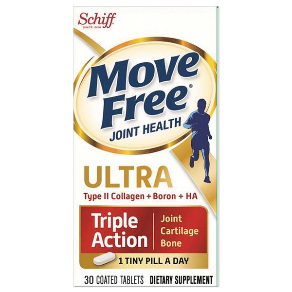 Schiff, Move Free Ultra, 30 Coated Tablets - The Supplement Shop