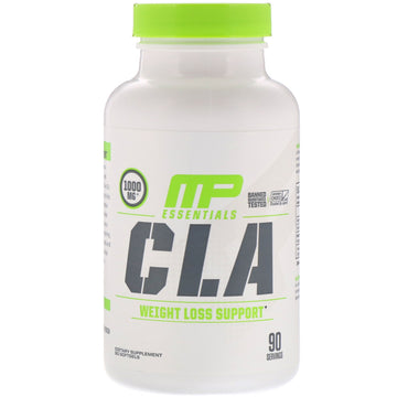 MusclePharm, Essentials, CLA, 1,000 mg, 90 Softgels