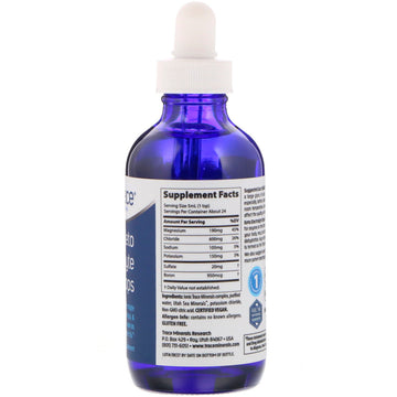 Trace Minerals Research, Keto Electrolyte Drops, 4 fl oz (118 ml)