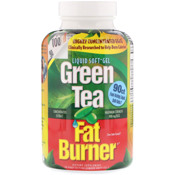 appliednutrition, Green Tea Fat Burner, 90 Fast-Acting Liquid Soft-Gels