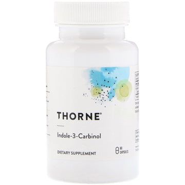SALE Thorne Research, Indole-3-Carbinol, 60 Capsules