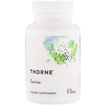 Thorne Research, Taurine, 90 Capsules