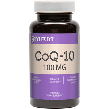 MRM, CoQ-10, 100 mg, 60 Softgels