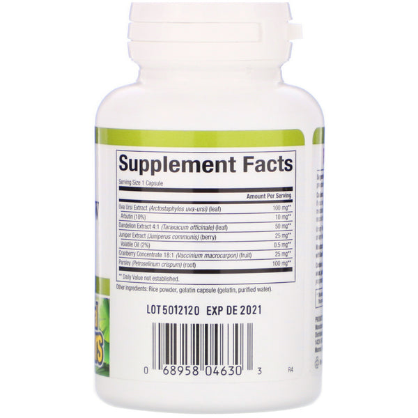 Natural Factors, Urinary Flow Formula, 90 Capsules - The Supplement Shop