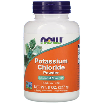 Now Foods, Potassium Chloride Powder, 8 oz  (227 g)