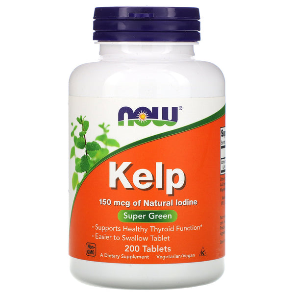 Now Foods, Kelp, 150 mcg, 200 Tablets