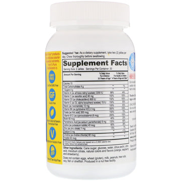 YumV's, Multivitamin Formula with Minerals, Delicious Fruit Flavor, 60 Jelly Bears