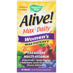 Nature's Way, Alive! Max3 Daily, Women's Multivitamin, 90 Tablets - The Supplement Shop