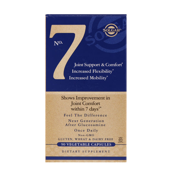 Solgar, No. 7, Joint Support & Comfort, 90 Vegetable Capsules