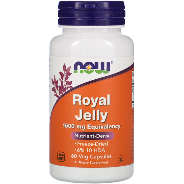 Now Foods, Royal Jelly, 1,500 mg, 60 Veg Capsules