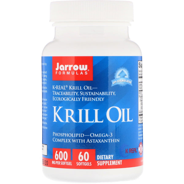 Jarrow Formulas, Krill Oil, 60 Softgels
