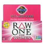 Garden of Life, Vitamin Code, RAW One, Once Daily Multivitamin for Women, 75 Vegetarian Capsules