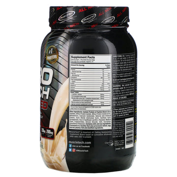 Muscletech, Nitro Tech, Ripped, Ultimate Protein + Weight Loss Formula, French Vanilla Swirl, 2.00 lbs (907 g)