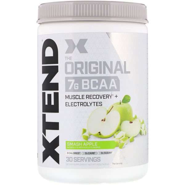 Scivation, Xtend, The Original 7G BCAA, Smash Apple, 14.8 oz (420 g)