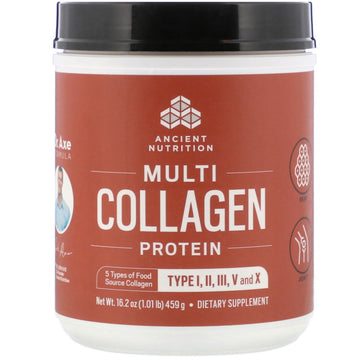 Dr. Axe / Ancient Nutrition, Multi Collagen Protein , 1.01 lb (459 g)