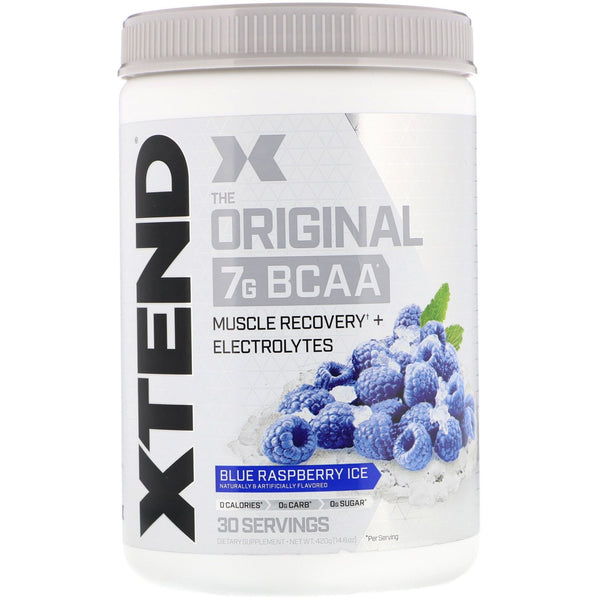 Scivation, Xtend, The Original 7G BCAA, Blue Raspberry Ice, 14.8 oz (420 g)