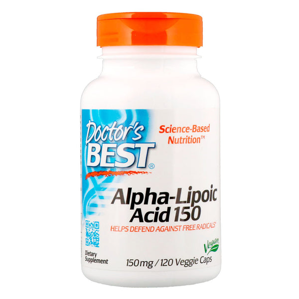 Doctor's Best, Alpha-Lipoic Acid, 150 mg, 120 Veggie Caps