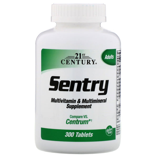 21st Century, Sentry, Multivitamin & Multimineral Supplement, 300 Tablets