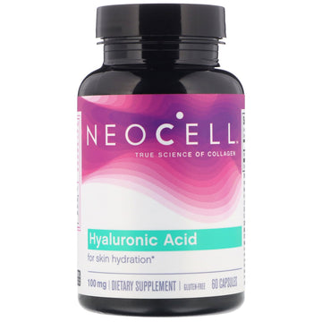 Neocell, Hyaluronic Acid, 100 mg, 60 Capsules