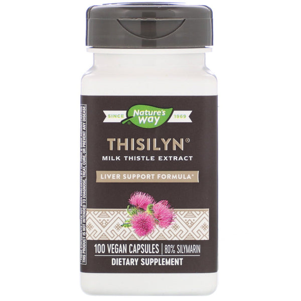Nature's Way, Thisilyn, Liver Support Formula, 100 Vegan Capsules - The Supplement Shop