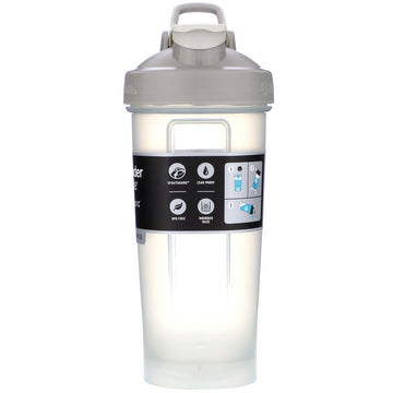 Blender Bottle, Classic With Loop, Pebble Grey, 28 oz (828 ml)