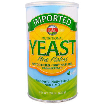 KAL, Imported, Nutritional Yeast, Fine Flakes, 7.8 oz (220 g)