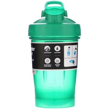 Blender Bottle, Classic With Loop, Emerald Green, 20 oz