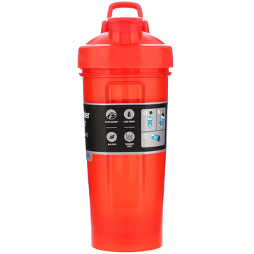 Blender Bottle, Classic With Loop, Red, 28 oz (828 ml)