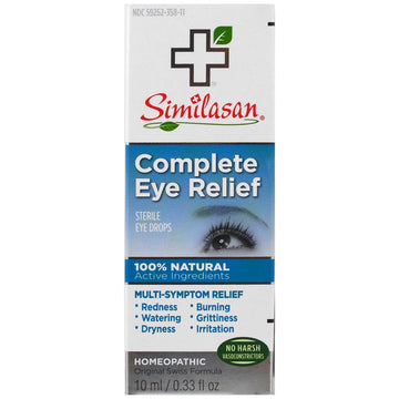 Similasan, Complete Eye Relief, Sterile Eye Drops, 0.33 fl oz (10 ml)