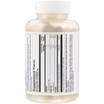KAL, Magnesium Glycinate 400, 400 mg, 120 Softgels