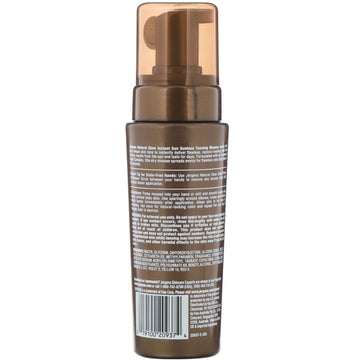 Jergens, Natural Glow, Instant Sun, Sunless Tanning Mousse, Light Bronze, 6 fl oz (177 ml)