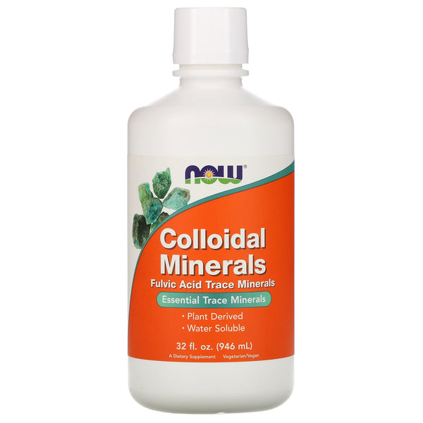 Now Foods, Colloidal Minerals, 32 fl oz (946 ml) - The Supplement Shop