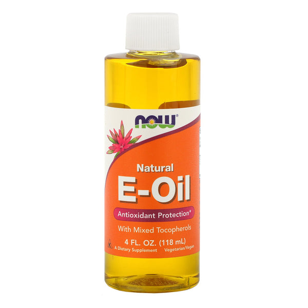 Now Foods, Natural E-Oil, Antioxidant Protection, 4 fl oz (118 ml)