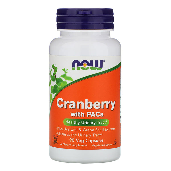 Now Foods, Cranberry with PACs, 90 Veg Capsules