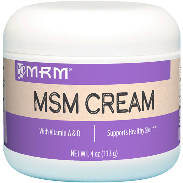 MRM, MSM Cream, 4 oz (113 g) - The Supplement Shop