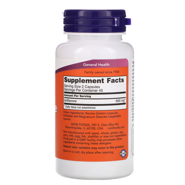 Now Foods, Ipriflavone, 300 mg, 90 Capsules