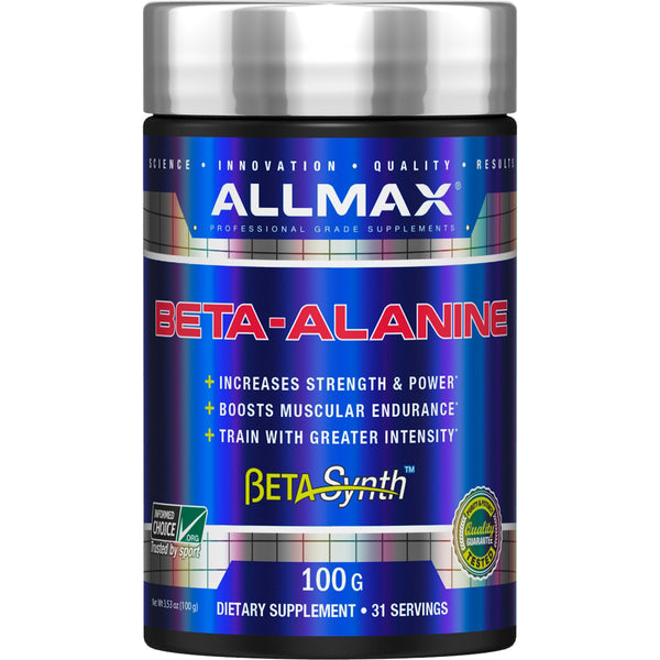 ALLMAX Nutrition, Beta-Alanine, 100 g, 3.53 oz (100 g)