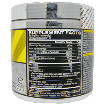 Cellucor, C4 Ripped, Pre-Workout, Cherry Limeade, 6.34 oz (180 g)