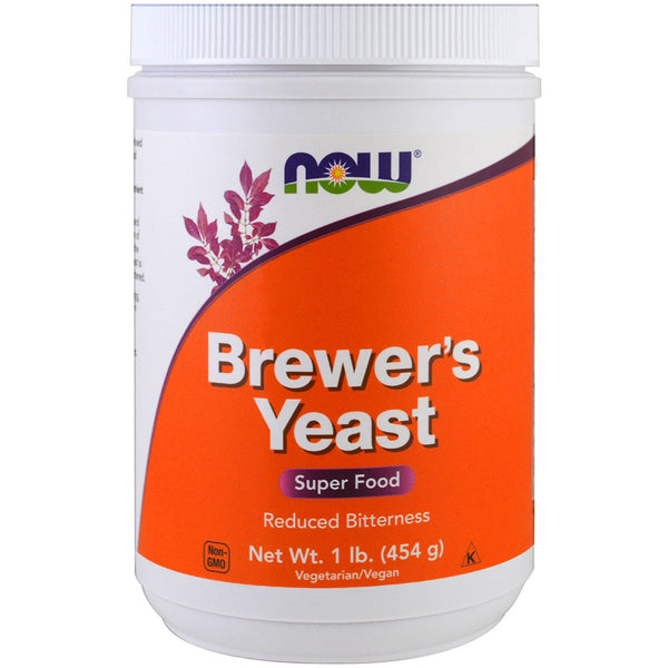 Now Foods, Brewer's Yeast, Super Food, 1 lb (454 g)