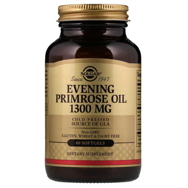 Solgar, Evening Primrose Oil, 1,300 mg,  60 Softgels