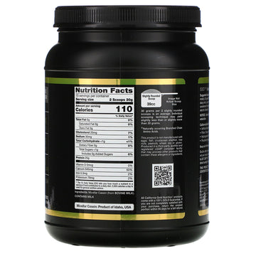 California Gold Nutrition, SPORT, Micellar Casein Protein, Unflavored, 88% Protein, Slow Absorption, Easy to Digest, Grade A Idaho, USA Dairy, 16 oz (454 g)