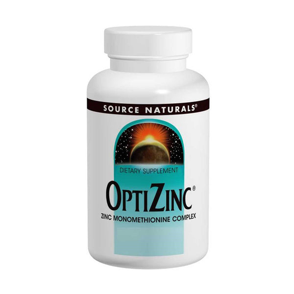 Source Naturals, OptiZinc, 240 Tablets - The Supplement Shop