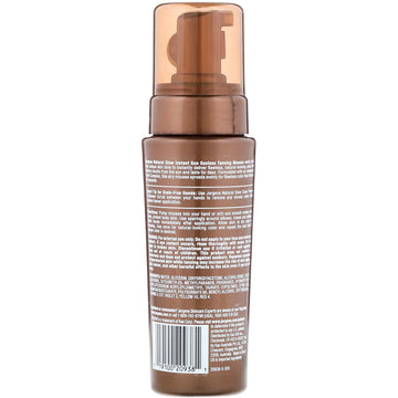 Jergens, Natural Glow, Instant Sun, Sunless Tanning Mousse, Deep Bronze, 6 fl oz (177 ml)