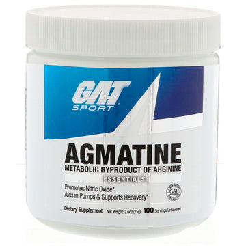 GAT, Essentials, Agmatine, Unflavored Powder, 2.6 oz (75 g)
