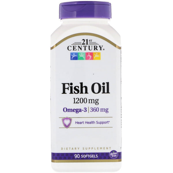 21st Century, Fish Oil, 1,200 mg, 90 Softgels