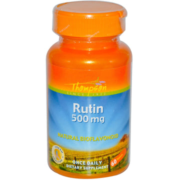 Thompson, Rutin, 500 mg, 60 Tablets