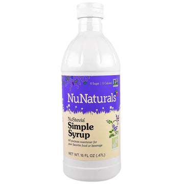 NuNaturals, NuStevia Simple Syrup, 16 fl oz (.47 l)