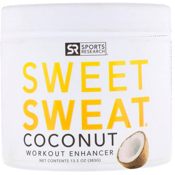 Sports Research, Sweet Sweat Workout Enhancer, Coconut , 13.5 oz (383 g)
