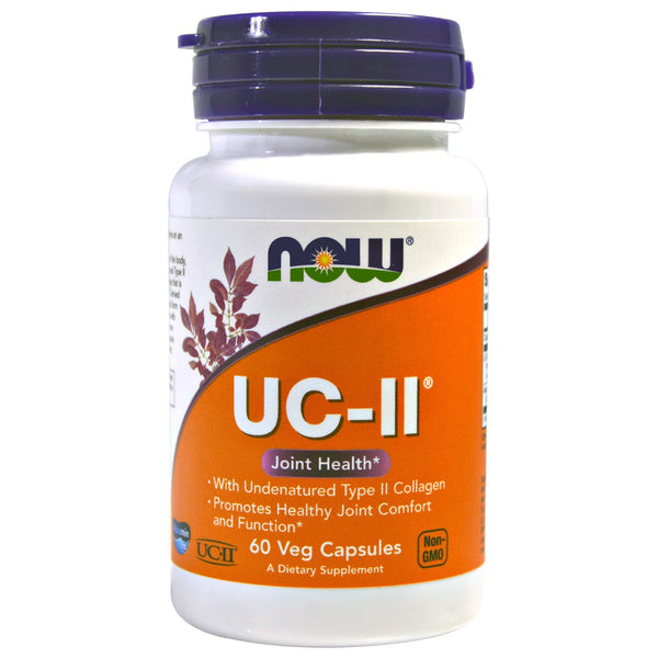Now Foods, UC-II, 60 Veg Capsules - The Supplement Shop