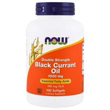 Now Foods, Black Currant Oil, 1,000 mg, 100 Softgels